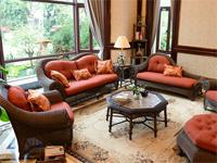 Tony 户外家具的藤编沙发设计典雅