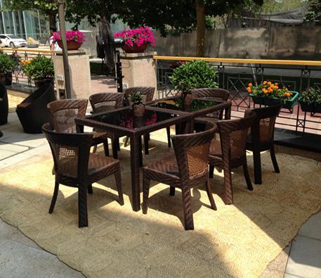 千禧酒店户外桌椅沙发