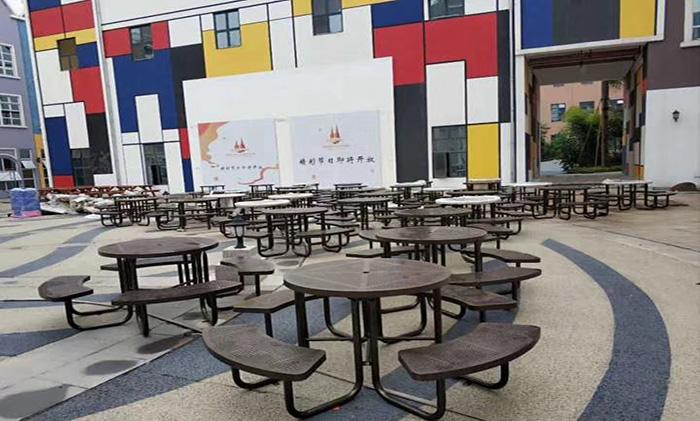 大型娱乐休闲场所休闲座椅定制工程案例