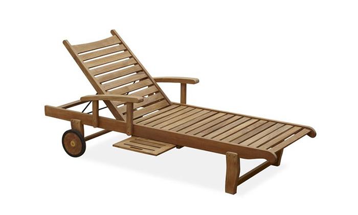 实木躺椅009#