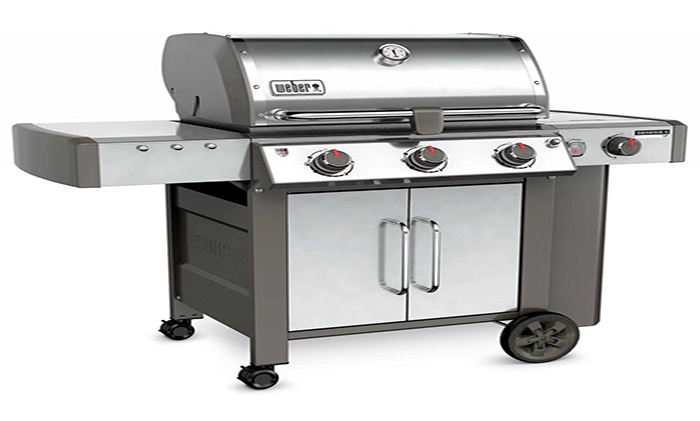 烤炉—威焙(weber)庭院燃气焖烤炉三灶(美国进口)