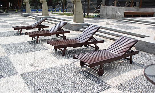 实木躺椅-水曲柳折叠大躺椅
