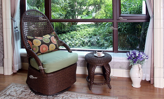 agio-阿鲁巴岛编藤桌椅