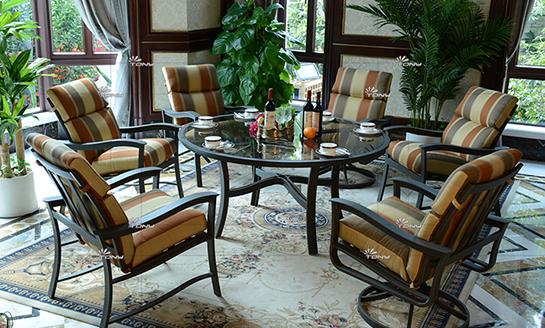 agio-马略卡岛铸铝桌椅