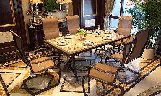 agio-银谷系列铸铝桌椅