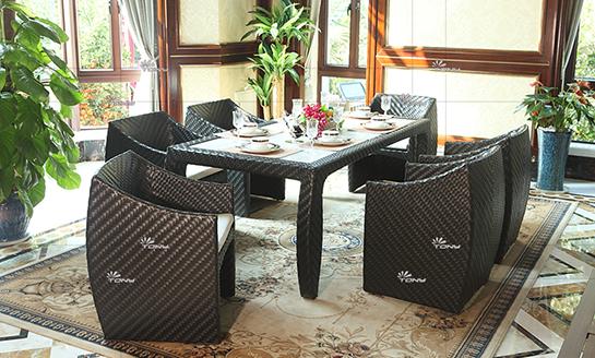 agio-爪哇岛编藤桌椅