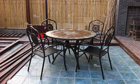 板岩桌椅-02