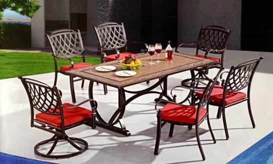 鑄鋁桌椅-07
