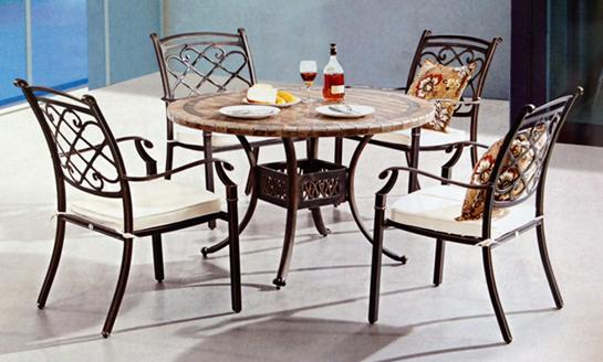 铸铝桌椅-09