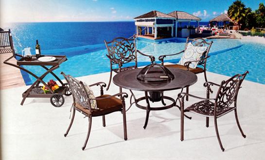 铸铝桌椅-11