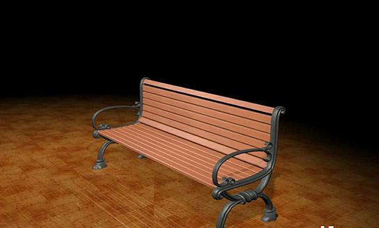 公园椅-7#