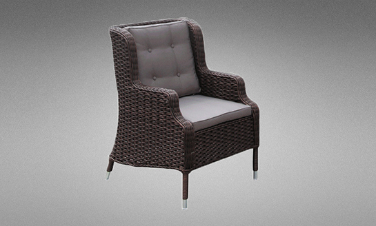 编藤沙发单椅c-198