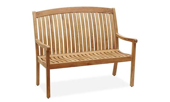 实木双人大方椅-08#