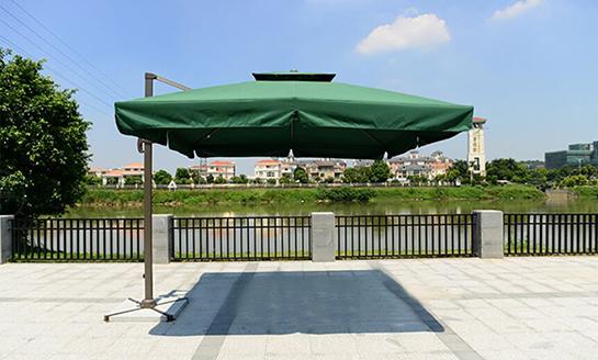 户外遮阳伞-AMT2.5米绿色罗马伞