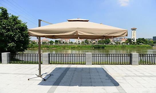 户外遮阳伞-AMT2.5米卡其罗马伞