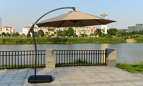 户外遮阳伞-AMT卡其地中海香蕉伞