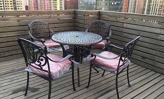 铸铝桌椅-13