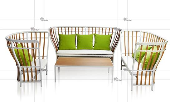 塑木桌椅-06#
