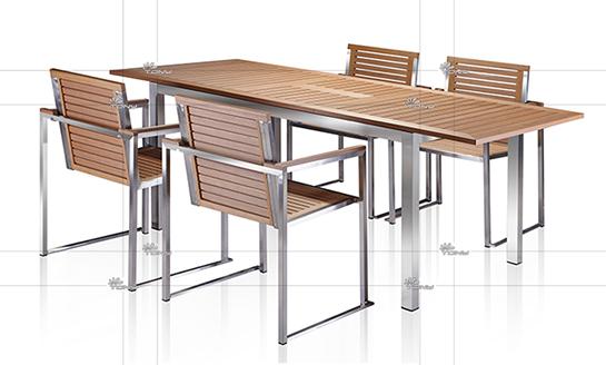 塑木桌椅-10#