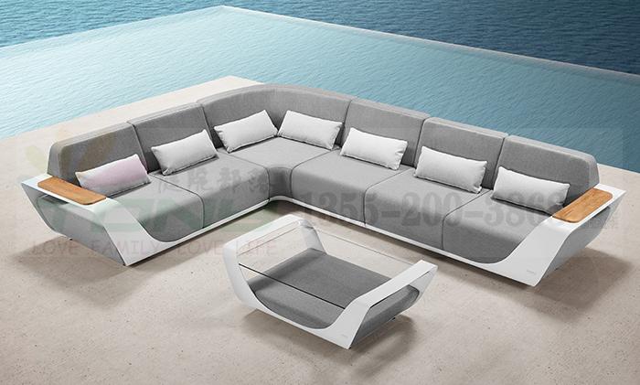 悍高HIGOLO-恩得系列之恩得奢华转角休闲沙发