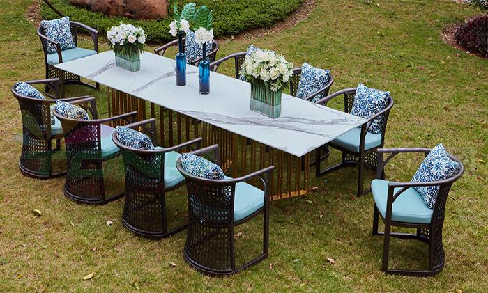agio新品-公寓长餐桌椅