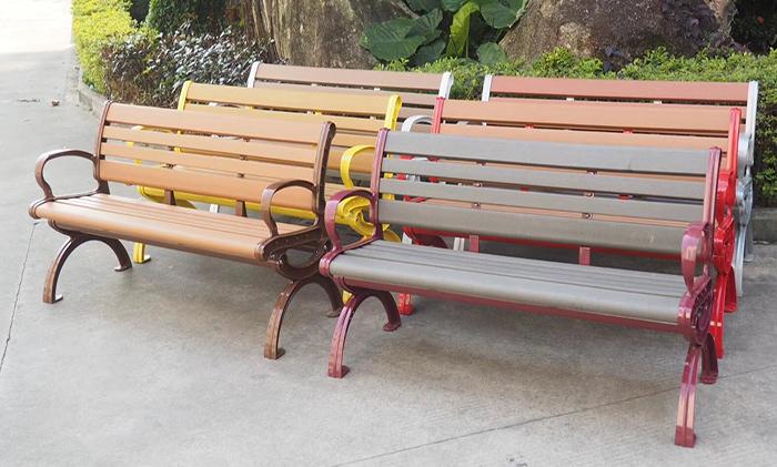HDPE塑木公园椅BL-059