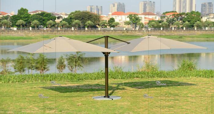 遮阳伞-2.5米双头罗马伞