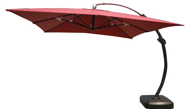 3.5米威大弯臂遮阳伞