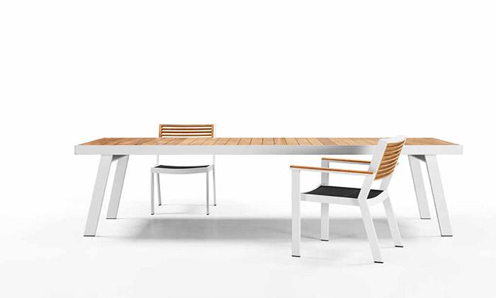 悍高HIGOLD-约克10人位餐桌椅(新款)外贸