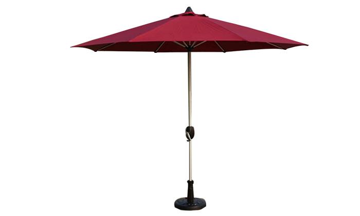 米兰铝合金手摇伞