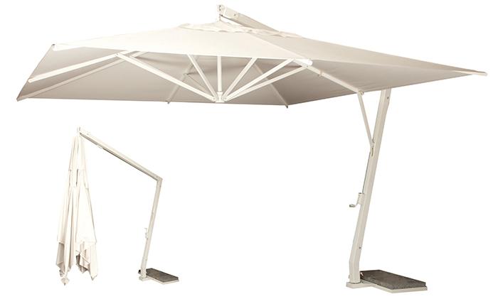 (定制)7字型铝合金遮阳伞(进口面料)