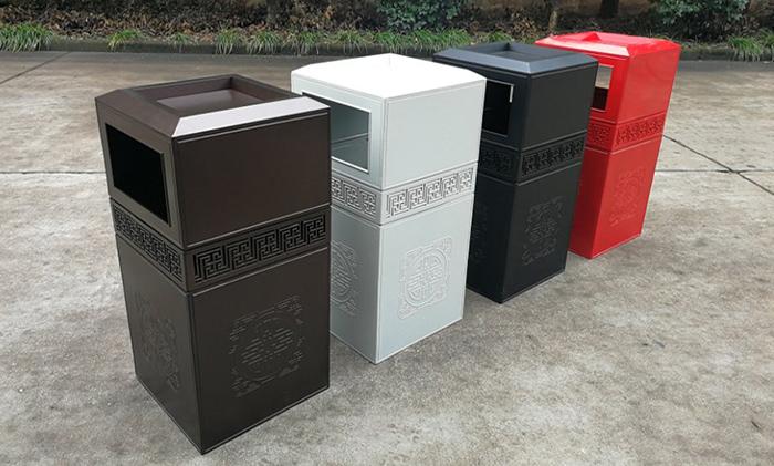 铸铝垃圾箱TY-L116