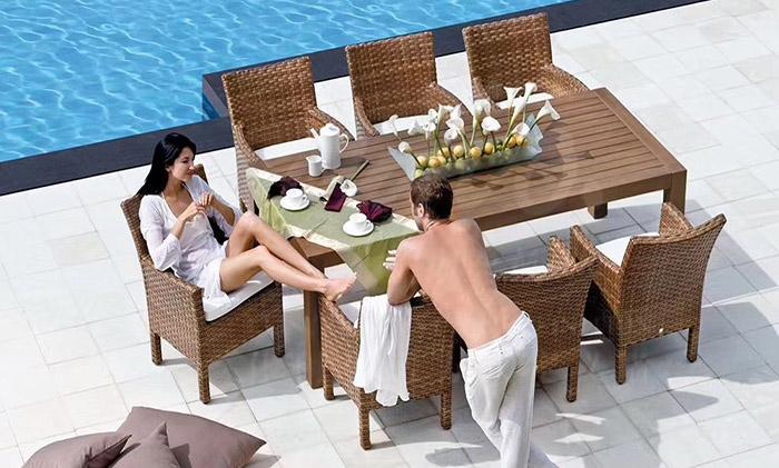 德国MBM托斯卡纳餐桌椅