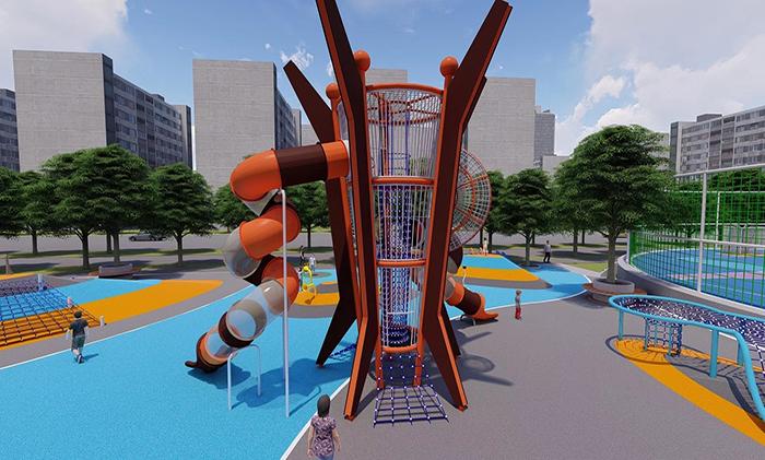 儿童游乐设施整体设计方案