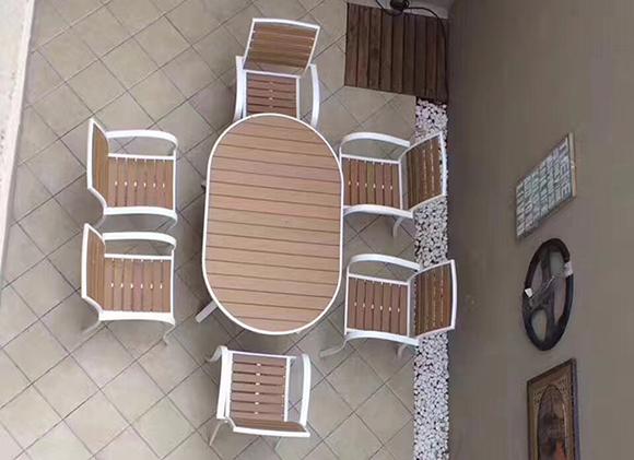 6112DT-塑木桌椅